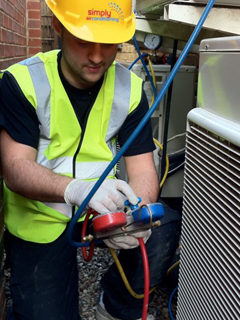 Simpy Air Conditioning supply and testing of units in London