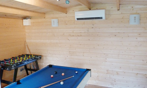 Games Room Climate Control