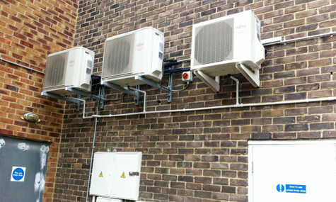 Outdoor Units installed by Simply AC