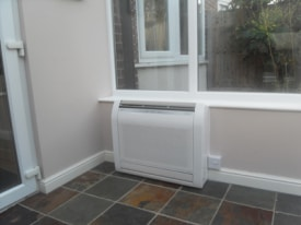 Conservatory heating in London