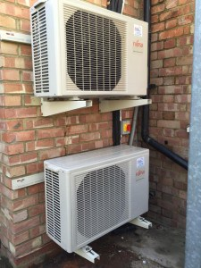 Heating Installation in a Chiropodist Clinic in Barnet