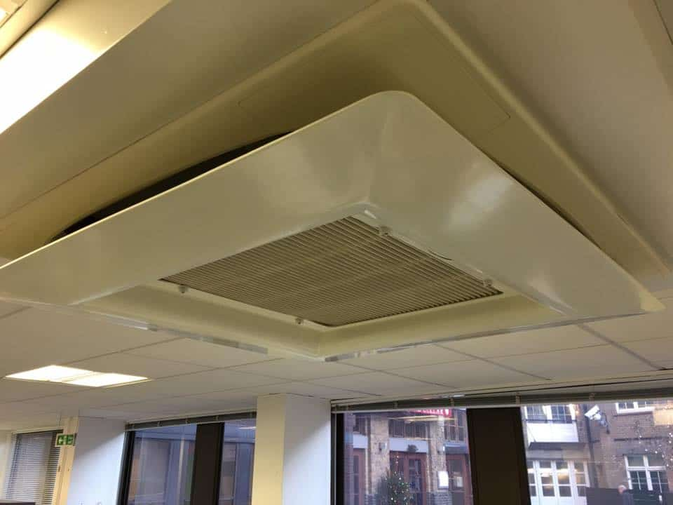 Fibreglass Air Deflector Installation In Clerkenwell London