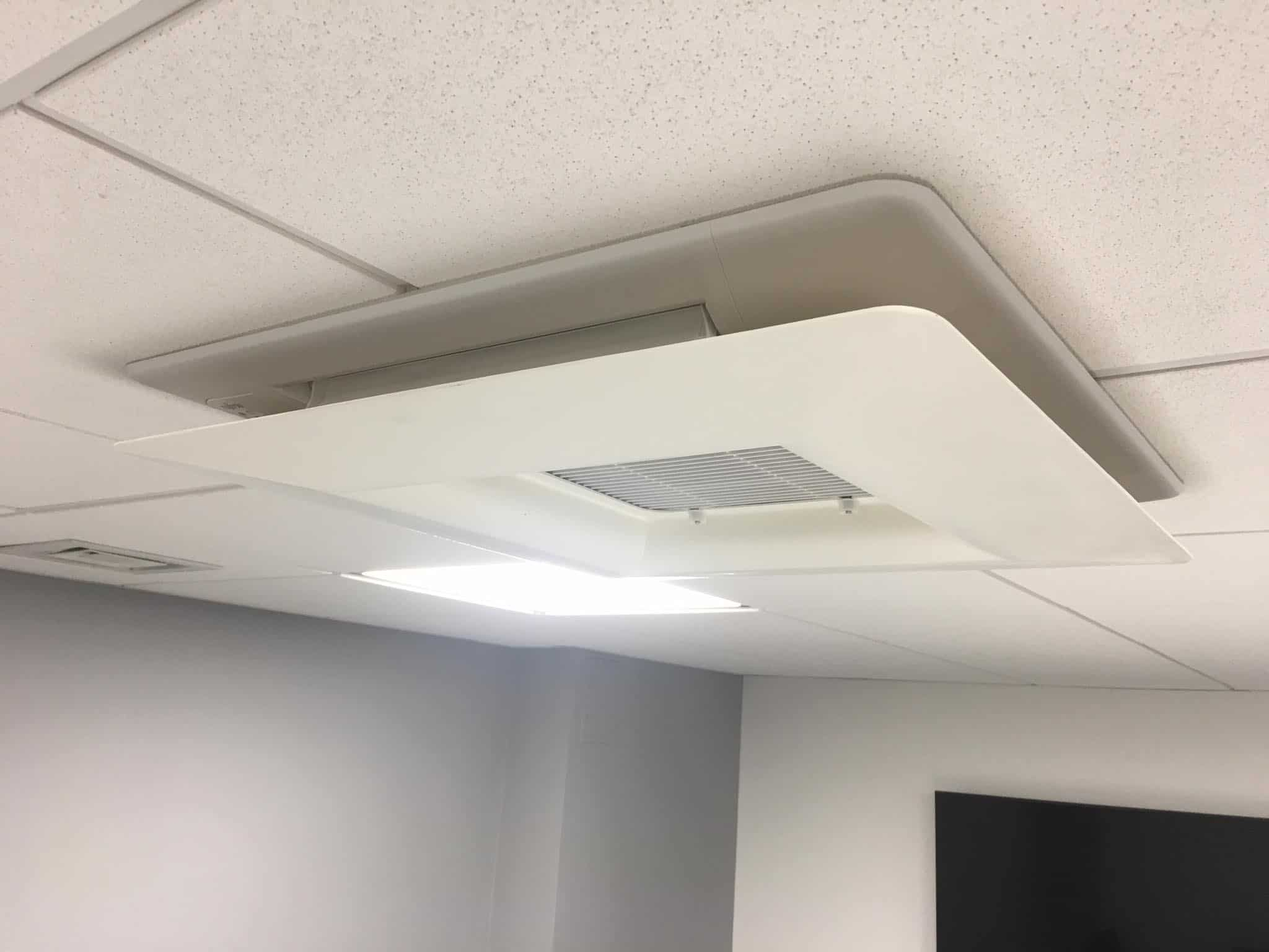 Simply Air Conditioning London - Ceiling Cassette Installation in Hoxton