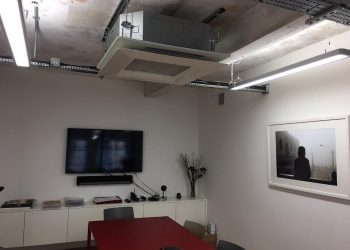 Simply Air Conditioning London - Office installation2