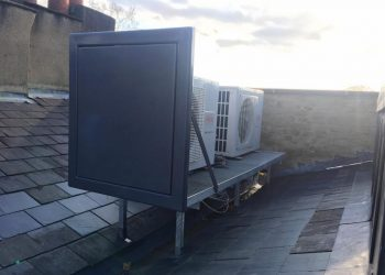 Simply Air Conditioning London - Rooftop air conditioning installation in Richmond