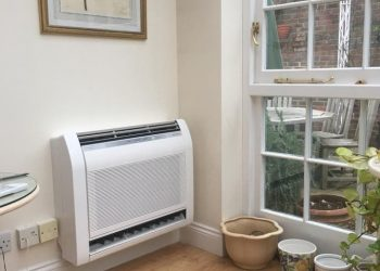 Simply Air Conditioning London - Fujitsu console unit installed in South West London1