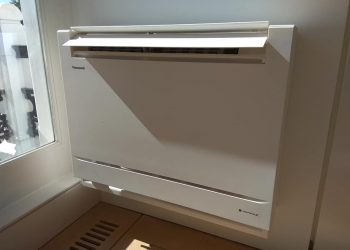 Simply Air Conditioning London - R32 comfort cooling console unit installation