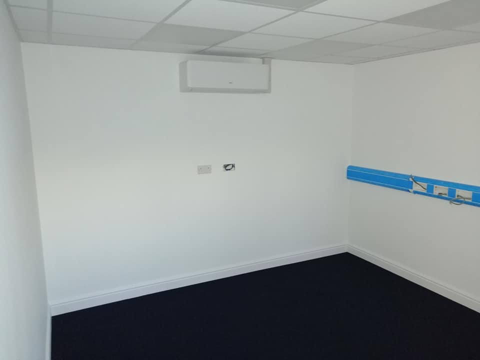 Ac Units Installed In Office And Flight Equipment Shop At