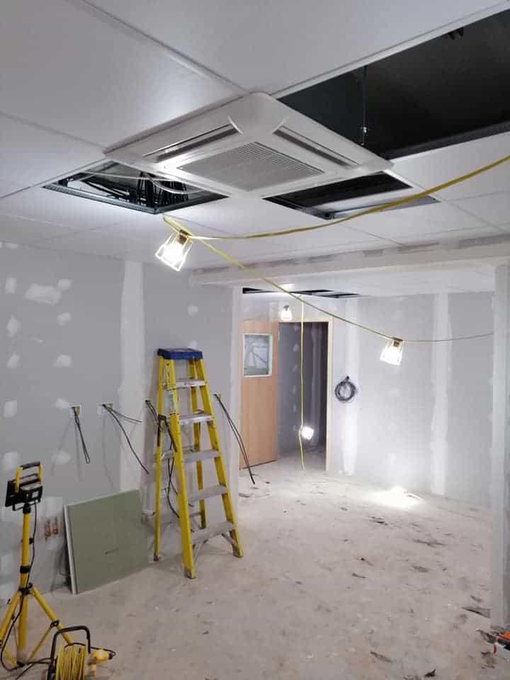 Fujitsu AC installation in the UK & Ireland Fujitsu AC installation in Stafford, Northampton and Ledbury
